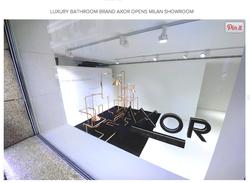 Axor opens Milan Showroom