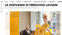 La scrivania di Ferruccio Laviani