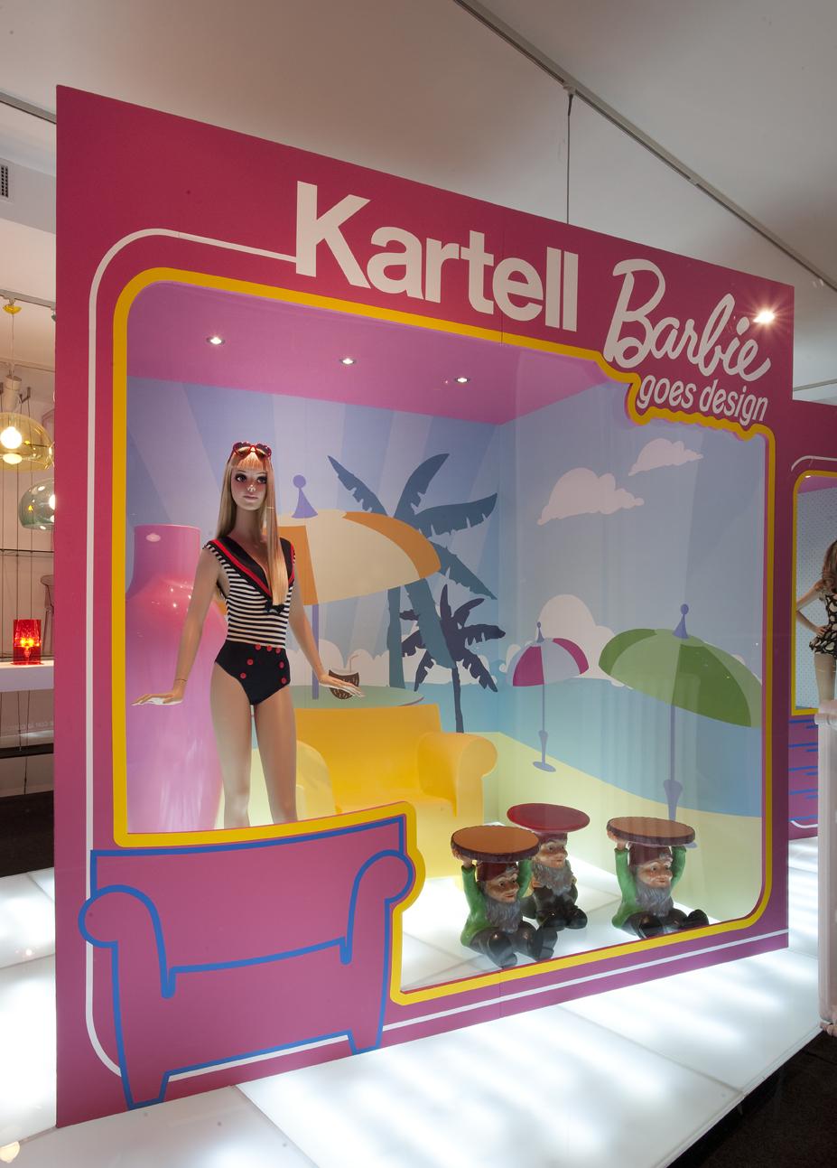 Kartell&Barbie Flag