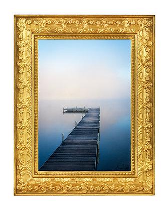 "Morning Fog over Kent Pond 12""18"" Print"