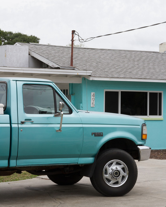 Teal Truck x Teal House