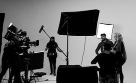 Stackfilm Studio Dreharbeiten