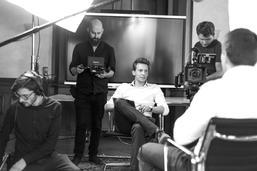 Stackfilm Interview Dreharbeiten