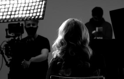 Stackfilm Dreharbeiten mit Sonya Kraus