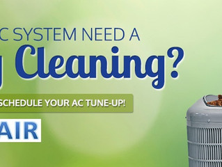 Time To Spring Clean Your HVAC!