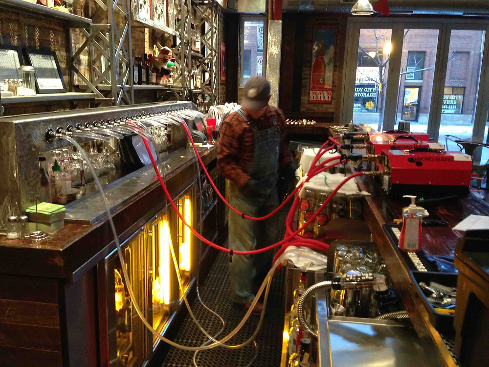 BEER LINE CLEANING & INSTALLATION NEW YORK
