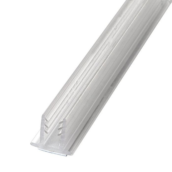 Rigid PVC/Dual Durometer | U Channel | Molding With Adhesive