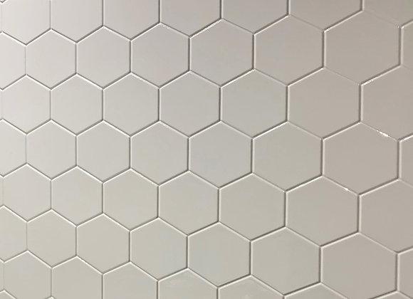 Grey Hexagon