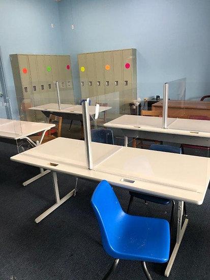PPE Student Desk Shield