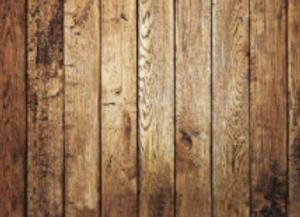 Oak Panel Wall