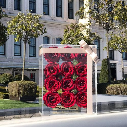12'li Kırmızı Solmayan Güller
