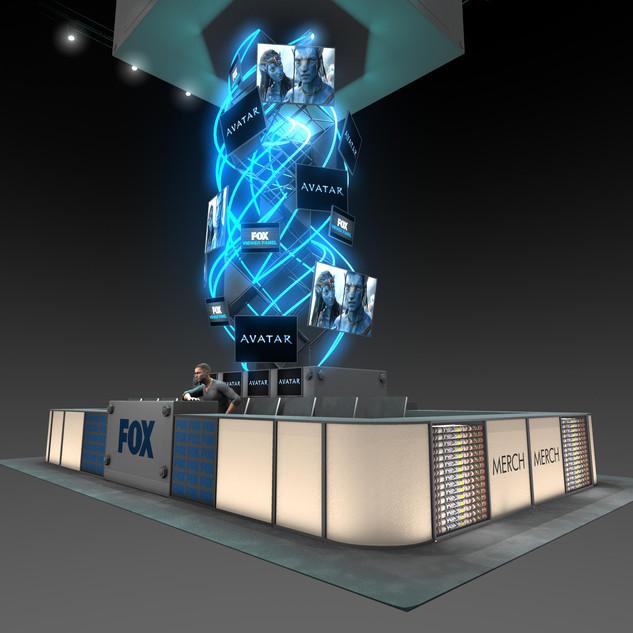 Fox - ComicCon Booth