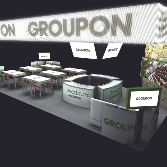 Groupon - NRA Booth