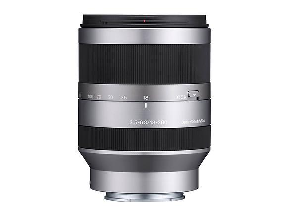 Sony E 18-200 f3.5-6.3