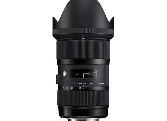 Sigma Art EF 18-35mm f1.8