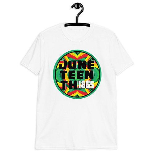 Juneteenth (Circle Design)  Short-Sleeve Unisex T-Shirt