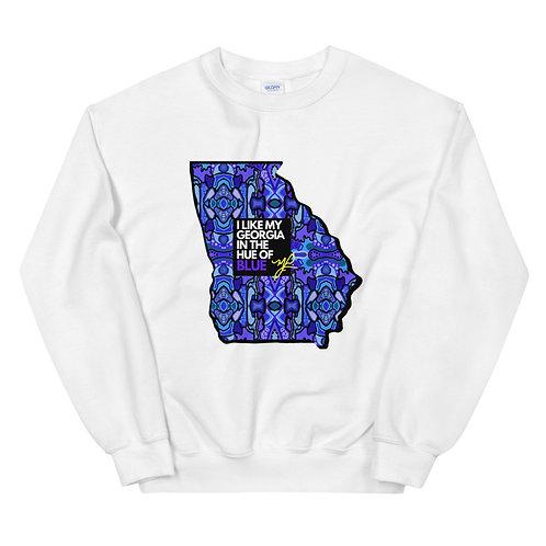 Georgia Blue- Unisex Sweatshirt