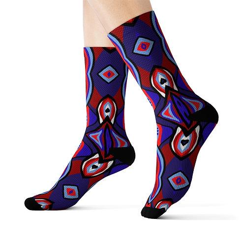 Azul Design-- Socks
