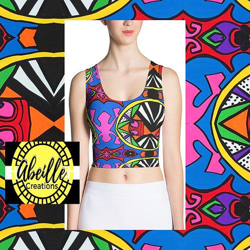 Abeille Crop Top- Antoinette Design