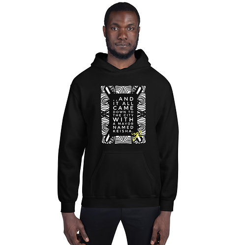 """.. And it all came down""- Unisex Hoodie"