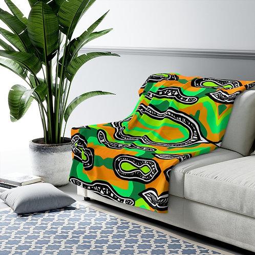Bragg-  Fleece/Fur Blanket