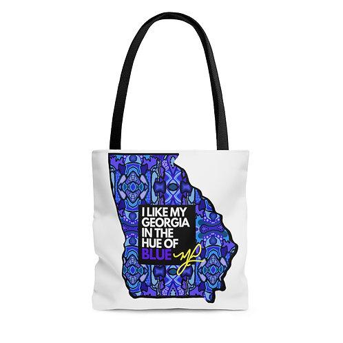 Georgia Blue- Tote Bag