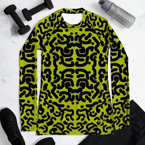 Lime Leopard - Women's Long Sleeve