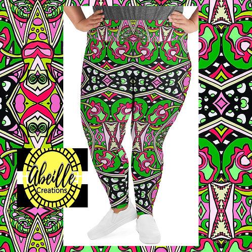 Abeille Leggings- Deondra Design (PLUS)