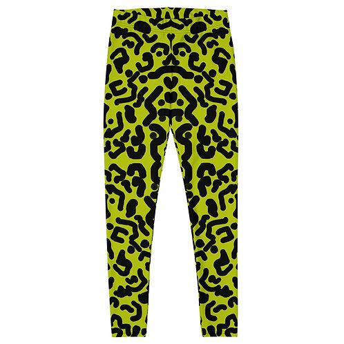 Lime Leopard- Leggings