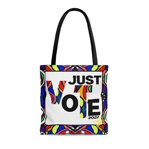 JUST VOTE- Tote Bag