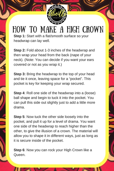 HIGH CROWN TUTORIAL