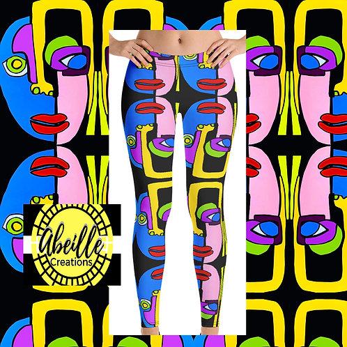 Abeille Leggings- Mahrokh Design