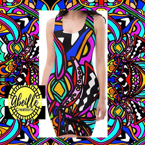 Abeille Dress- Reina Design