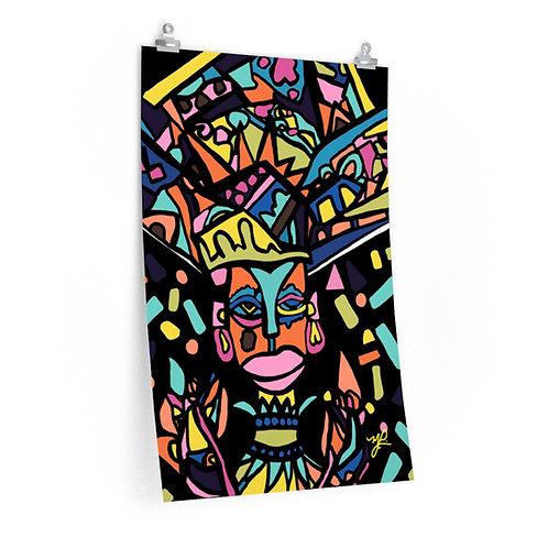 Zula Mama- Premium Matte  poster