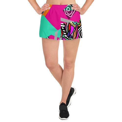 Ikenna - Women's Athletic Short Shorts