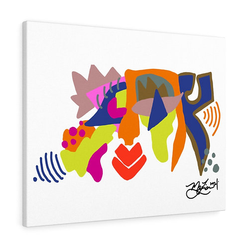 Ayo- The Breakfast Boy Collection- Canvas Gallery Wrap