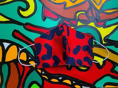 FACE MASK - Rojo Design- (Style II)