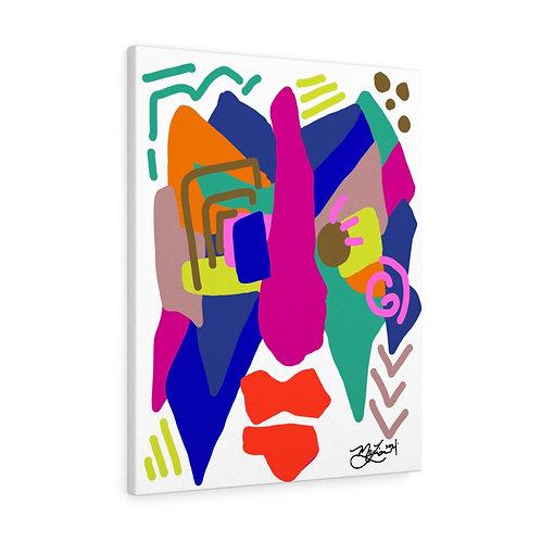 Eli- The Breakfast Boy Collection- Canvas Gallery Wrap