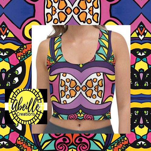 Abeille Crop Top- Elaine Design