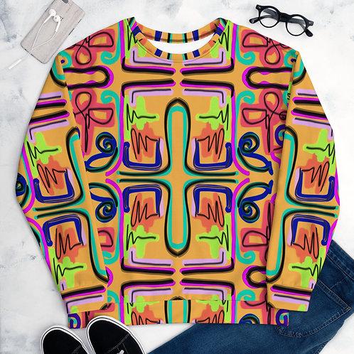 Neon Scribble- Unisex Sweatshirt