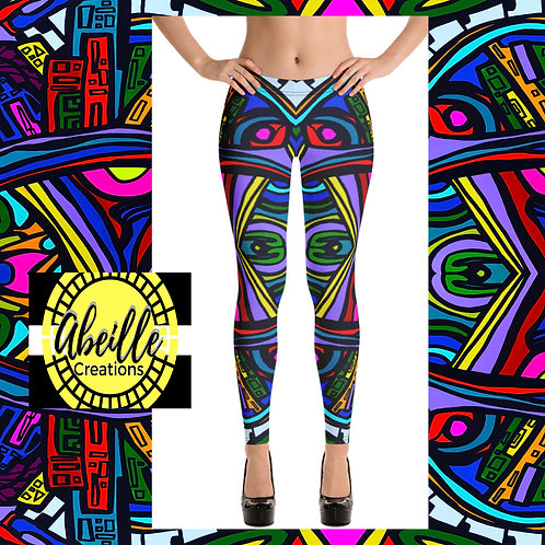 Abeille Leggings- City Vibe Design