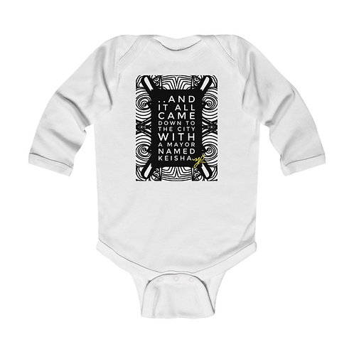 """..And it all came down"" - Infant Long Sleeve Bodysuit"