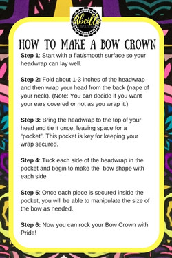 BOW CROWN TUTORIAL