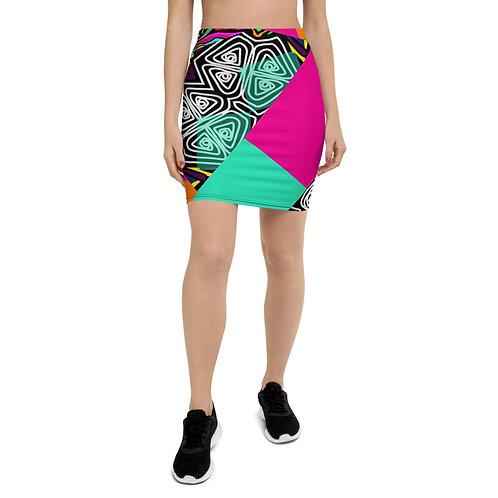 Ikenna-Pencil Skirt