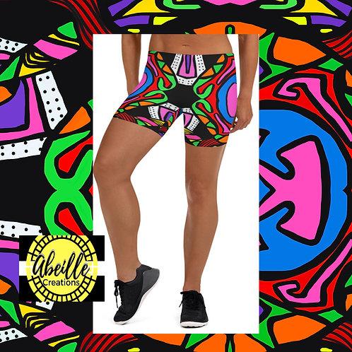 Abeille Shorts- Ariel Design