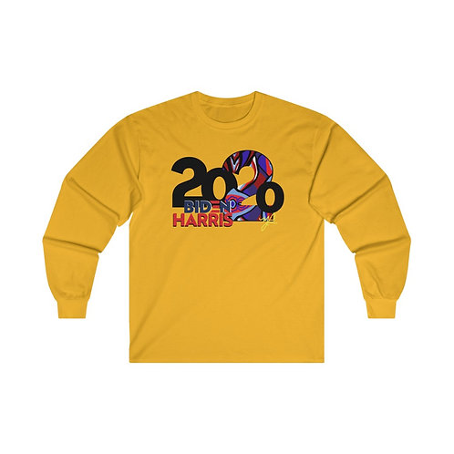 Biden/Harris- Just VOTE 2020 Long Sleeve Tee