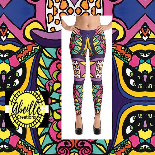 Abeille Leggings- Elaine Design