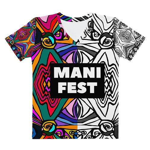 Manifest- Women's V-Neck T-Shirt