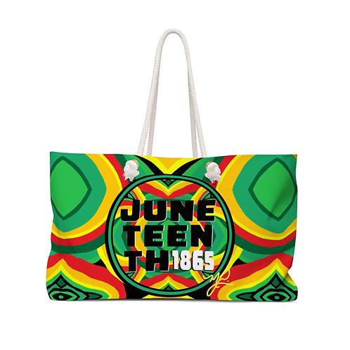 Juneteenth Weekender Bag
