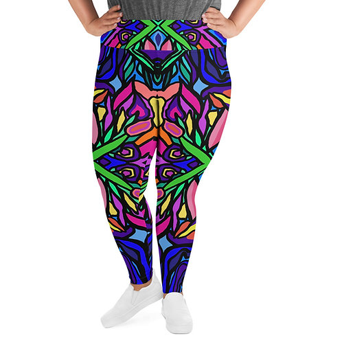 """Listen to Stacey..."" --  Plus Size Leggings"
